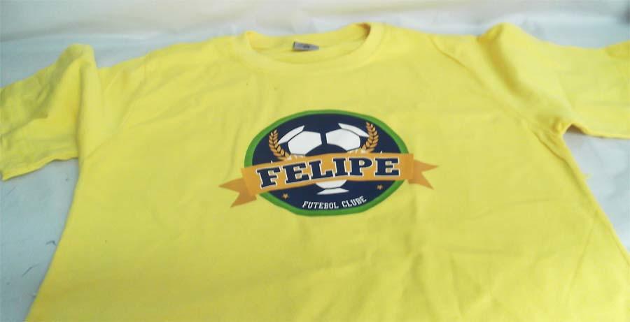ba733eaba5 Camiseta personalizada Futebol no Elo7