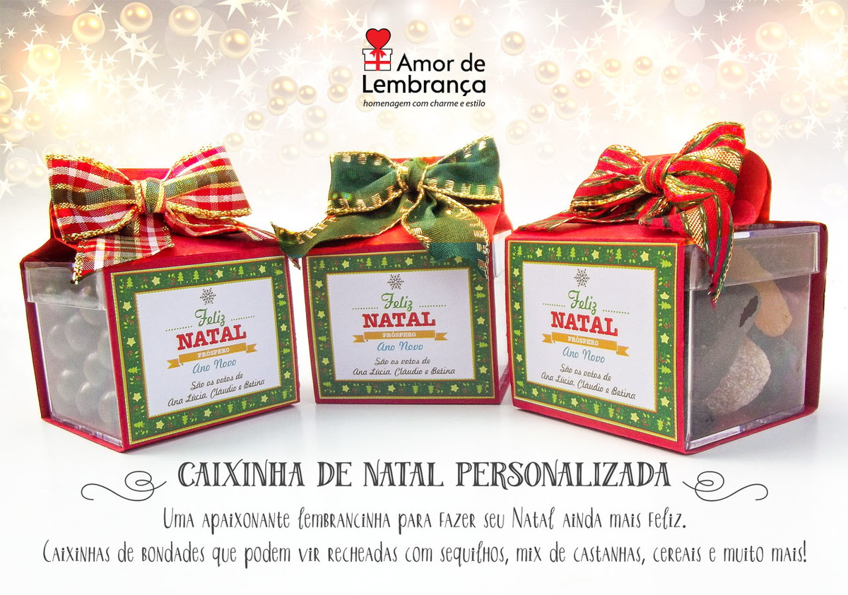 Caixinhas De Natal Personalizadas No Elo7 Amor De Lembrança 60ce7a