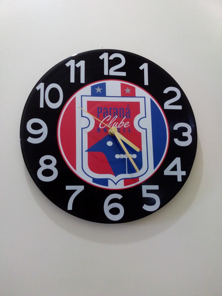 2cfb29ed078 Relógio de Parede Paraná Clube no Elo7