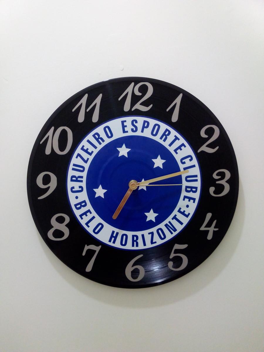 72902ac6faf Relógio de Parede Cruzeiro no Elo7