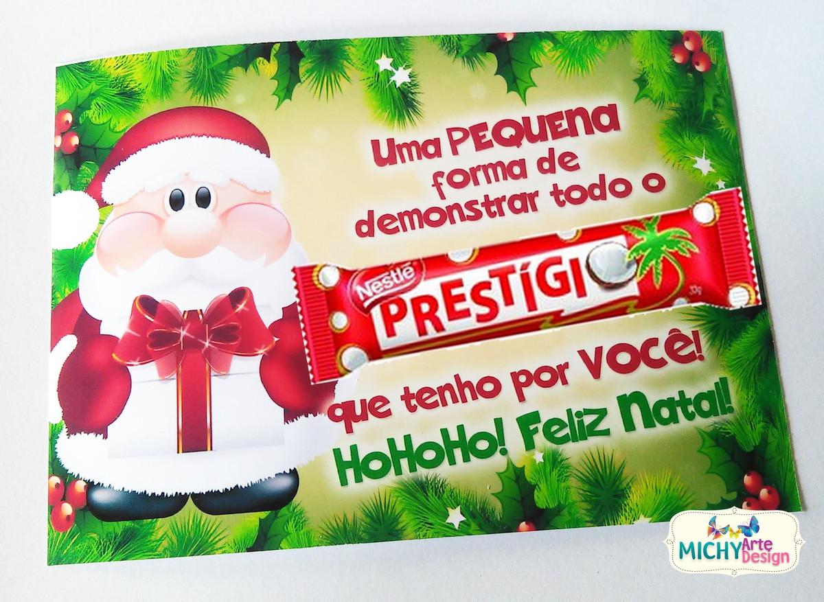 Cartão De Natal Prestígio No Elo7 Michy Arte Design 612f45