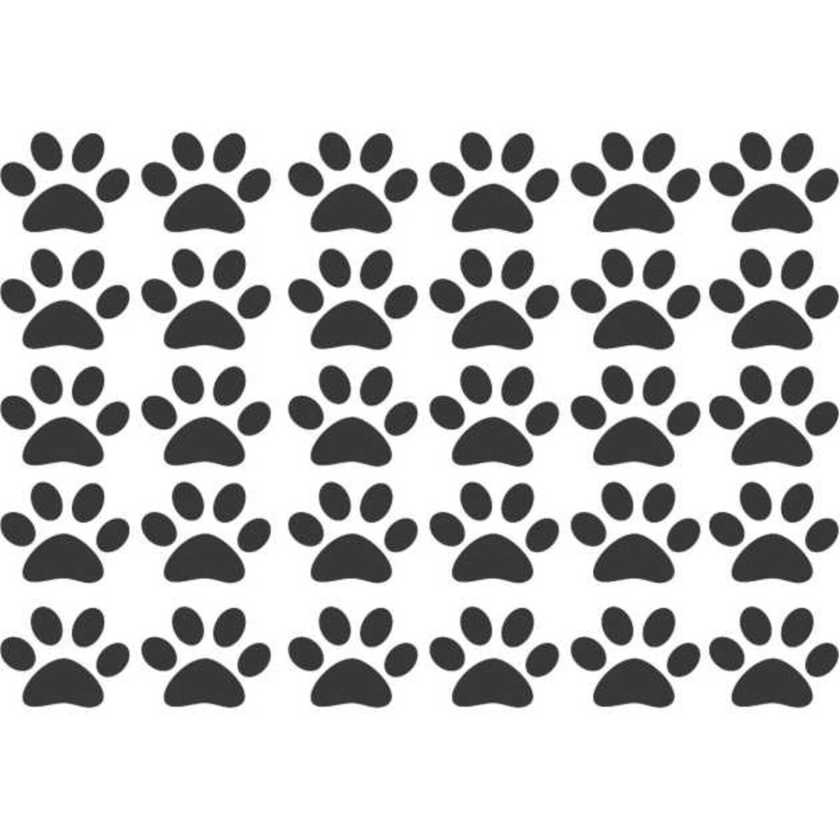 d89f18a48012c Adesivo Patas Patinha Cachorro Dog Pet Queen Indústria De Adesivos Elo7