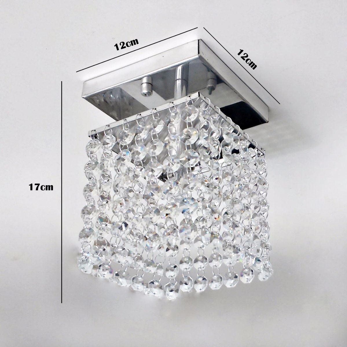 Luminária De Cristal Para Sala Quarto CP Design