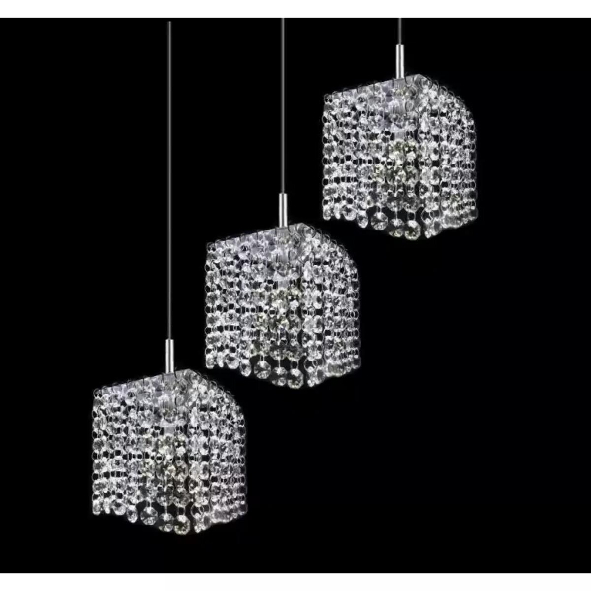 lustre pendente de cristal legitimo lustres cp design elo7. Black Bedroom Furniture Sets. Home Design Ideas