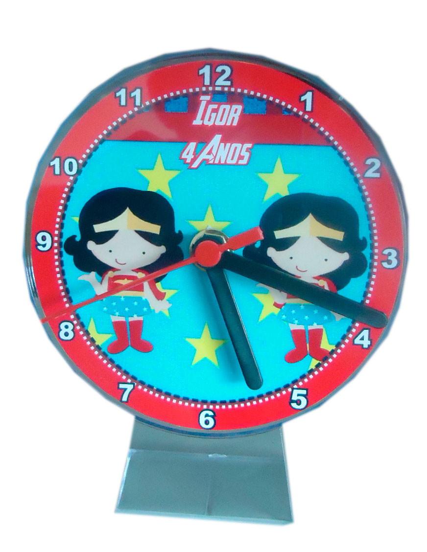 30fbc46b049 Relógio Mulher Maravilha no Elo7