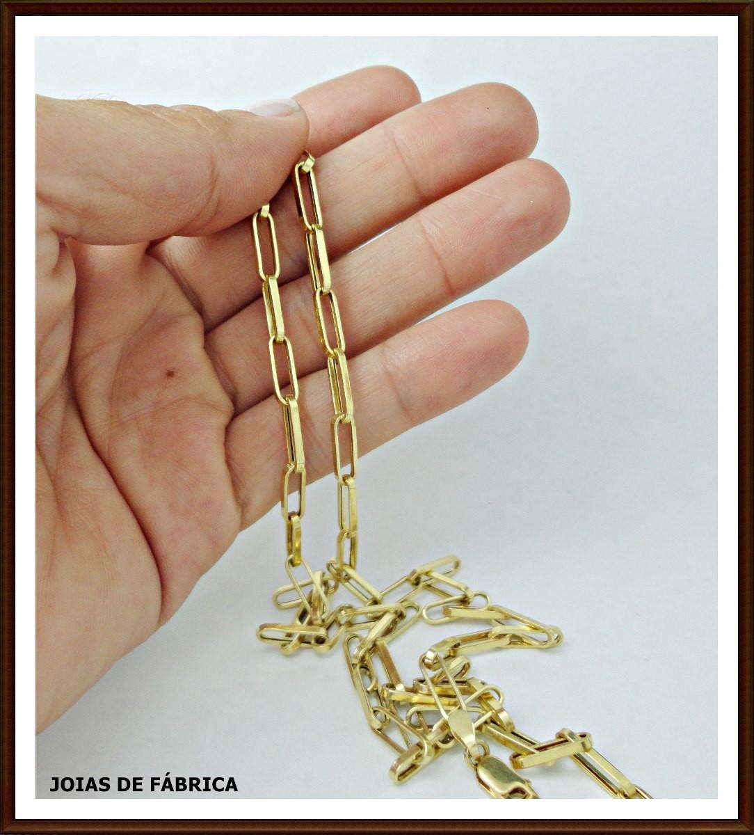 dafdc25b3ac Cordão em ouro Cartier 18k no Elo7