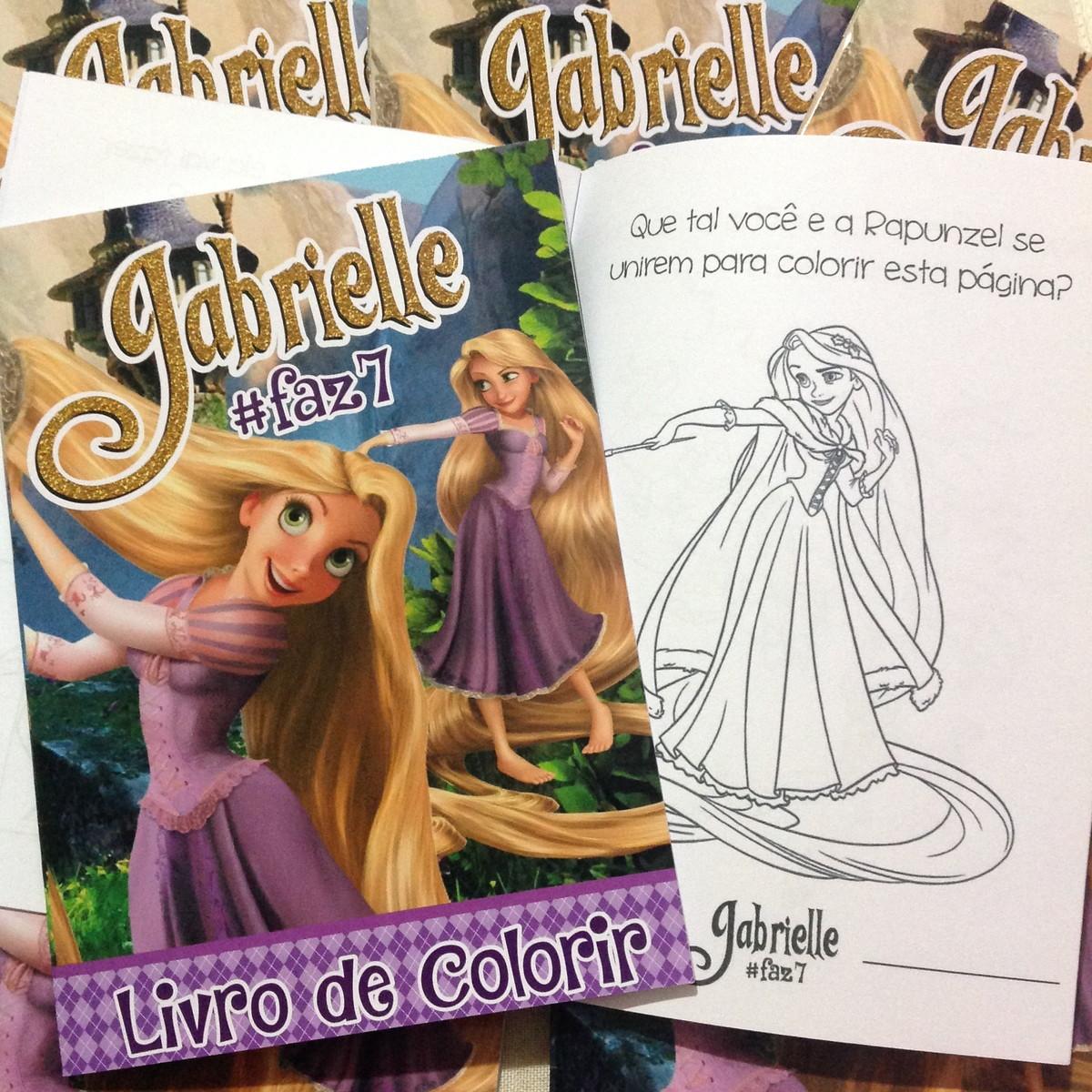 Livro De Colorir Rapunzel Enrolados No Elo7 Dreamland Solucoes
