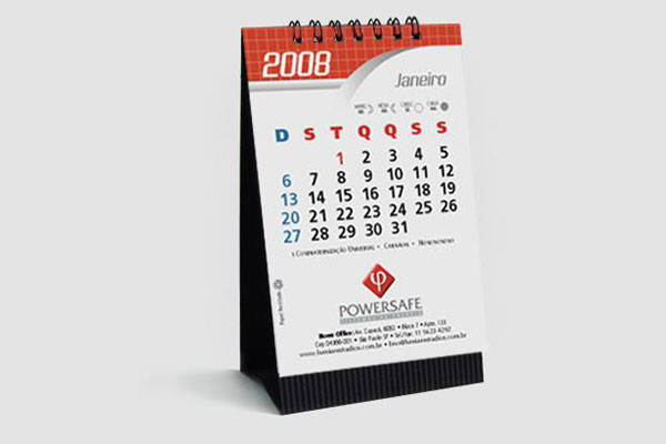 Calend rios de mesa personalizados no elo7 gr fica da - Calendario de mesa ...