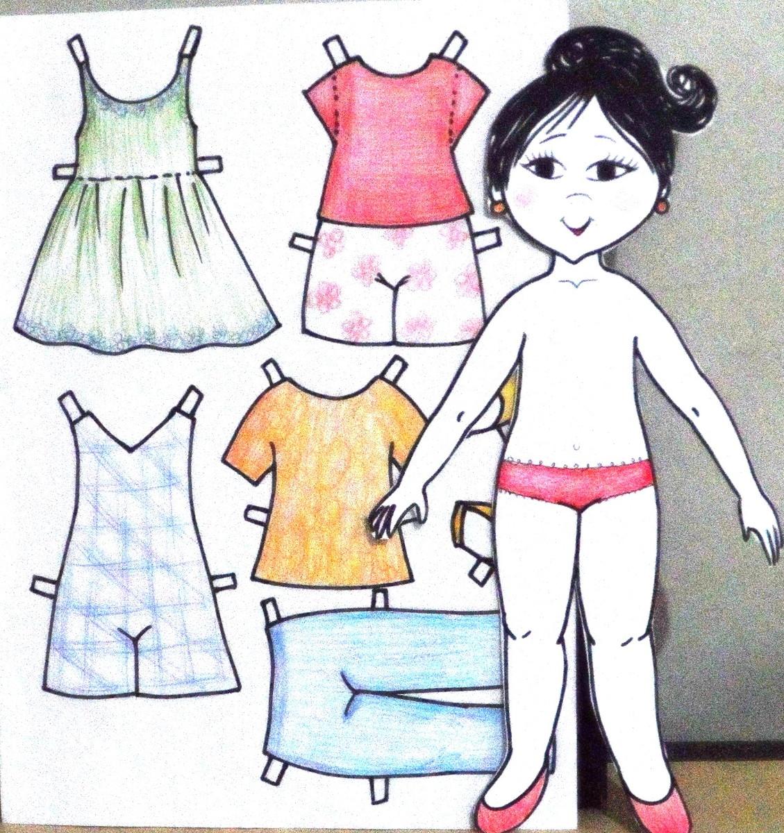 Marberan 4be769 Artes No Papel De Personalizada Boneca Elo7 0wt7UXWq