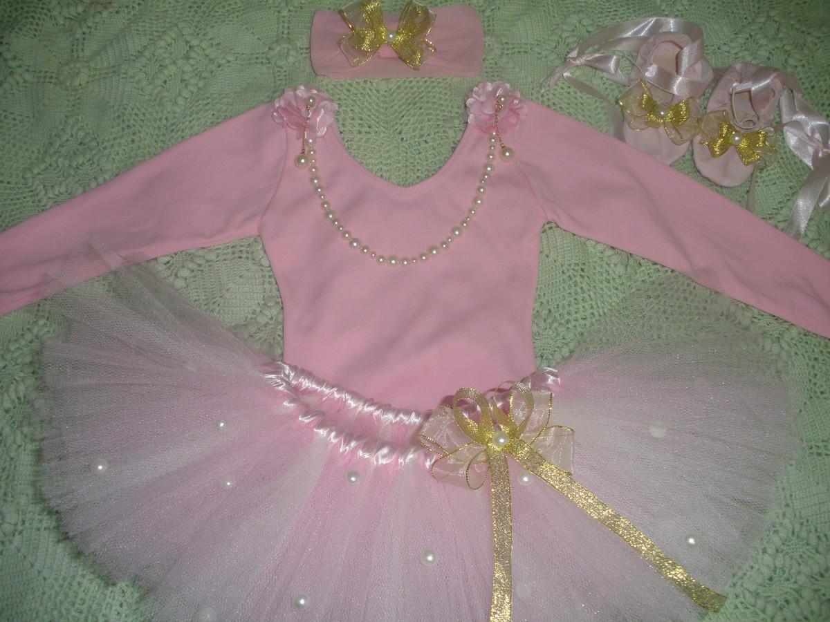 fb50001320 Conjunto bailarina Colar de Pérolas no Elo7