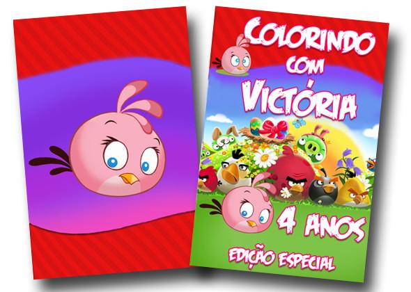 Revista Angry Birds Menina 14x10 No Elo7 Tudo De Festa Galvao