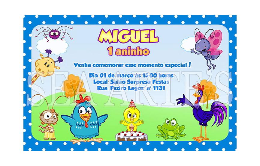Arte Convite Digital Galinha Pintadinha No Elo7 Sea Artes 4cd421