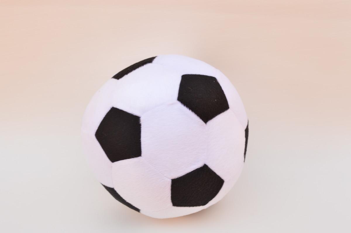 eedce14b64 Zoom · Bola de futebol grande de pelúcia.