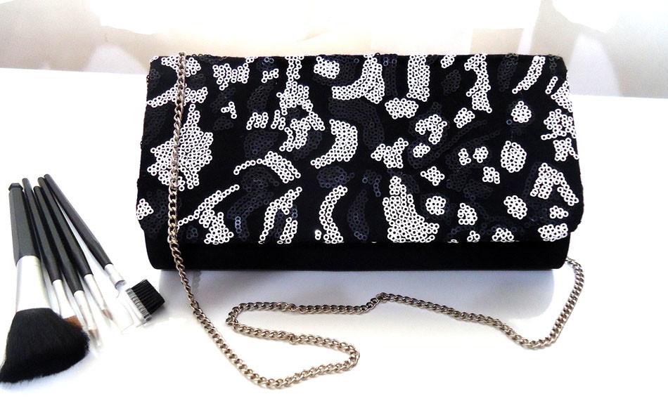 77b70cce09 ... Bolsa paetês preto e branco bolsa-clutch-preta-bolsa-de-mao; Zoom · Zoom  ...