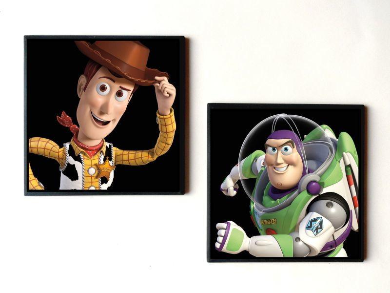 Jogo De Quadros Toy Story Woody E Buzz No Elo7 Artemagika 578203