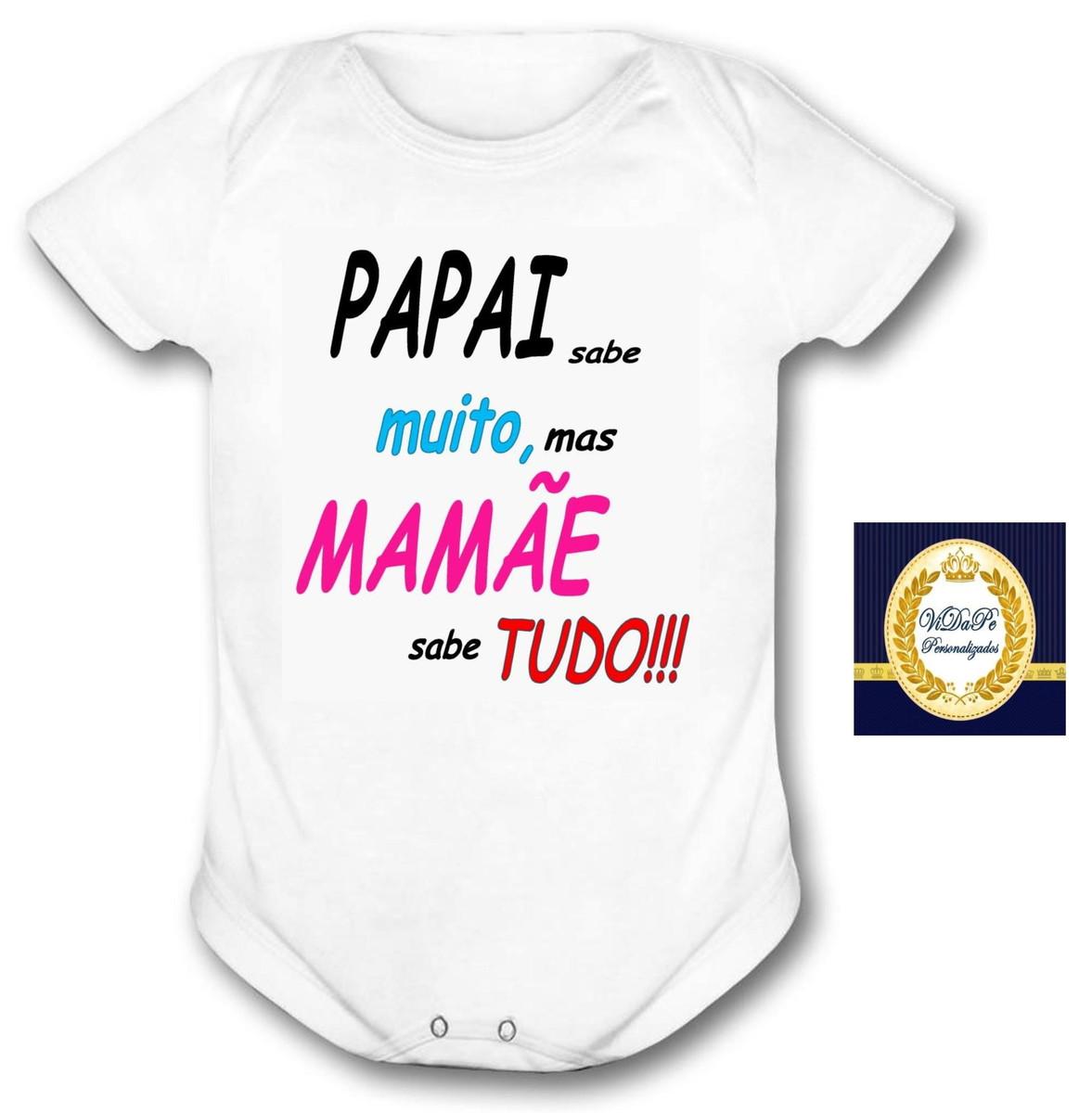 db9761d67 body bebe personalizado frase divertida no Elo7 | Gracinha Baby (62C79E)