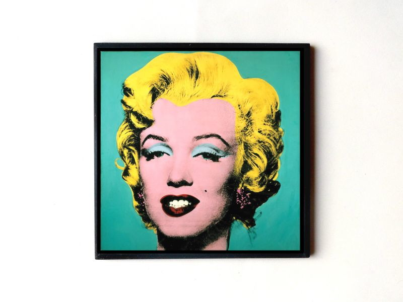 Quadro Marilyn Monroe Pop Art (Verde) no Elo7 | ArteMáGika (2F2918)