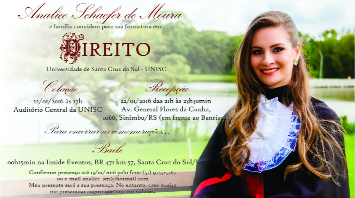 Convite De Formatura No Elo7 Ateliê Guria Arteira 631aa6
