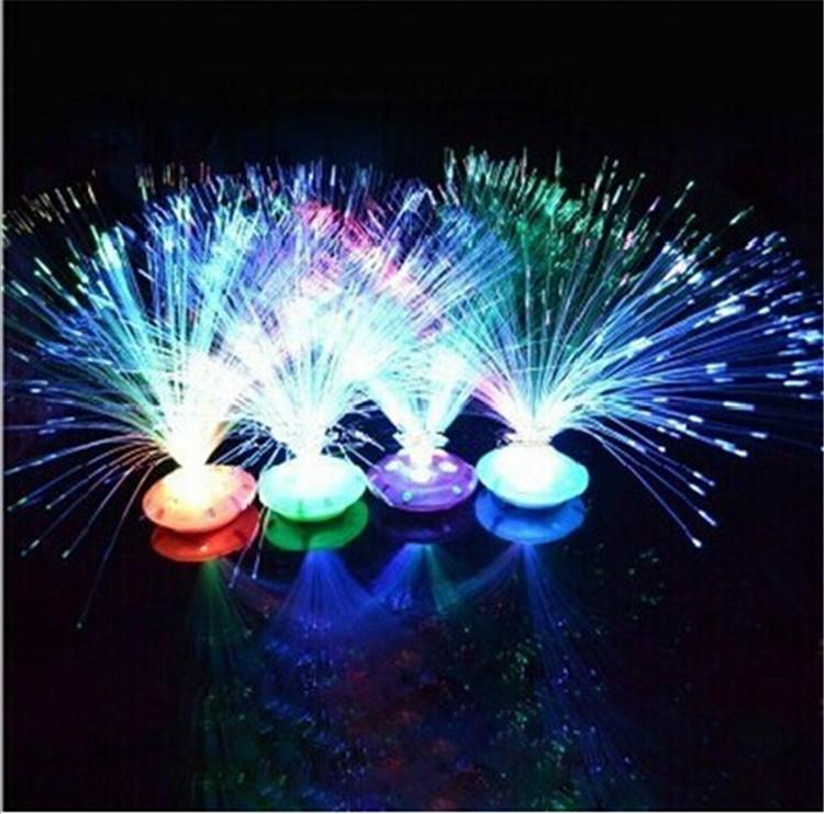 fc92e5c1b5dd1 5 centro de mesa Fibra ótica neon no Elo7   Manifesta (6354AC)
