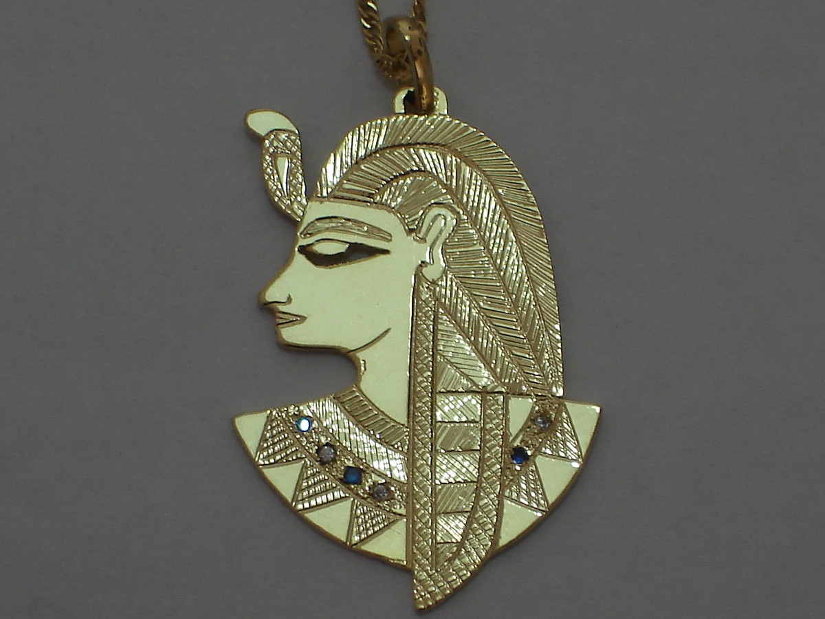 2ae7307343c pingente Deus Ptah prata no Elo7