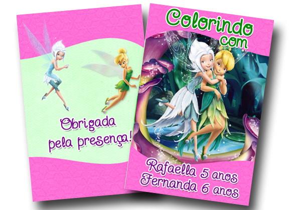 Revista Tinker Bell E Periwinkle 14x10 No Elo7 Tudo De Festa