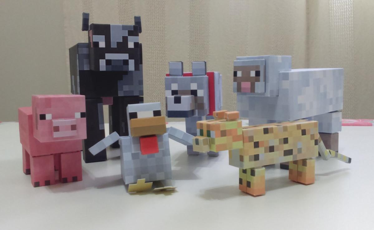 kit animais minecraft festas decoração no elo7 geeks e ladies 4ab23e