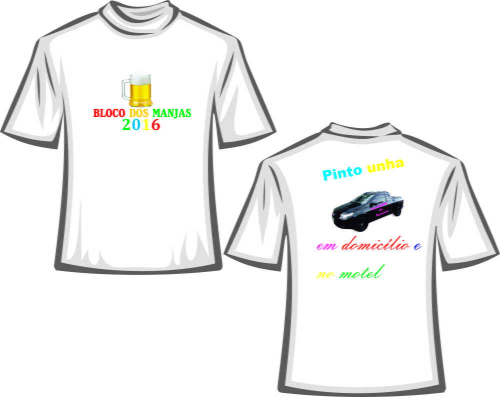Camiseta Personalizada 6 unidades no Elo7  26e100b9d805a