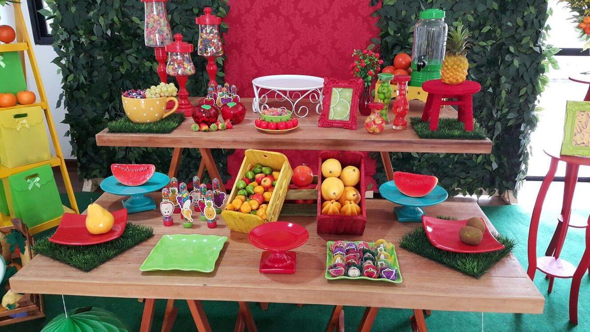 Aluguel de Decoraç u00e3o Festa Frutas Danielle Nicolau Araujo Elo7