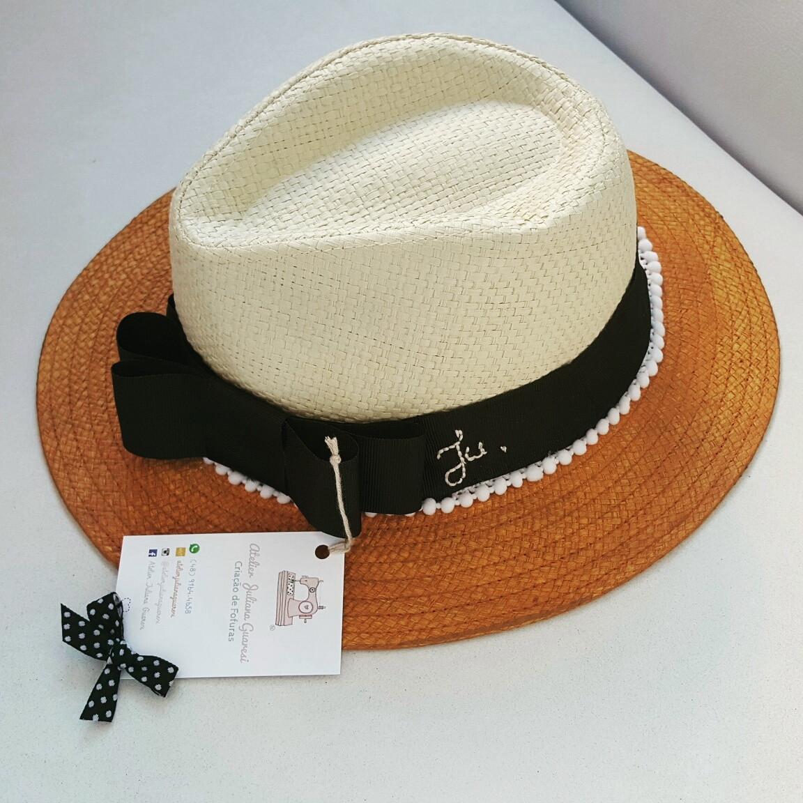 Chapéu Panamá no Elo7  9fe7228998b