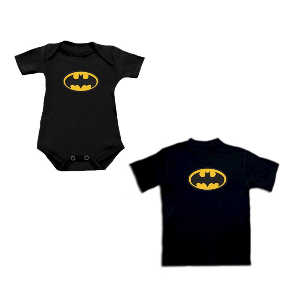 Camiseta INFANTIL ou Body Batman - Algodão no Elo7  608ed3c5358