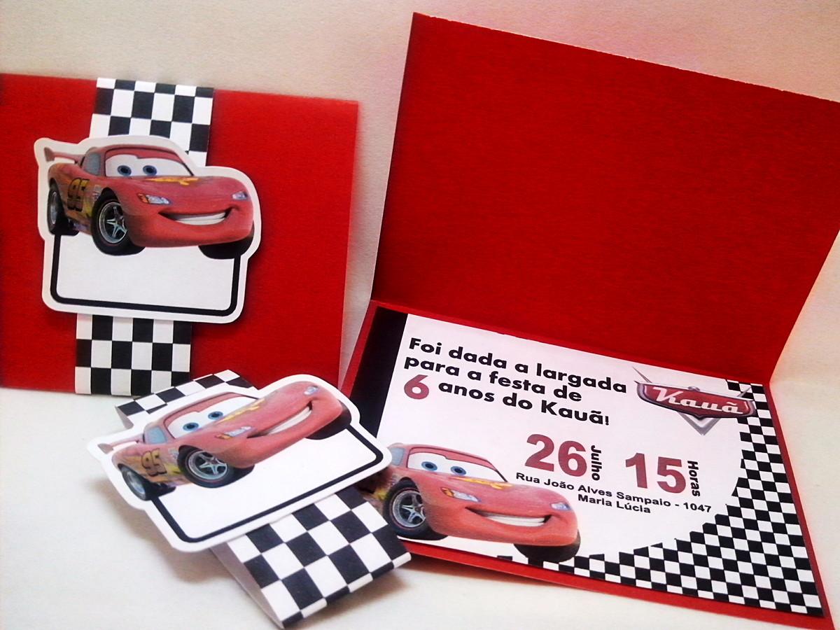 Convite anivers rio carros frete gratis no elo7 for Carro compra moderno