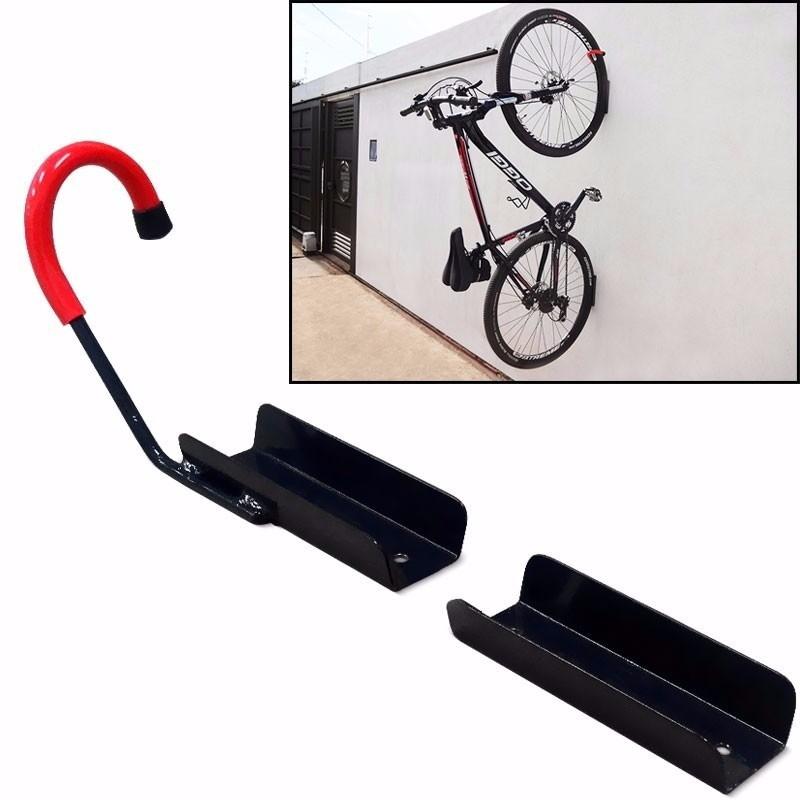 Gancho suporte de bicicleta para parede no elo7 isabel - Gancho bicicleta pared ...
