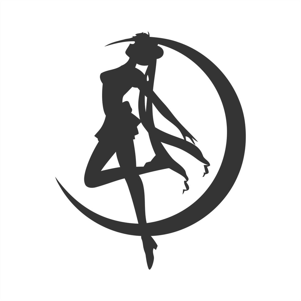 Adesivo Sailor Moon No Elo7 Queen Ind 218 Stria De Adesivos