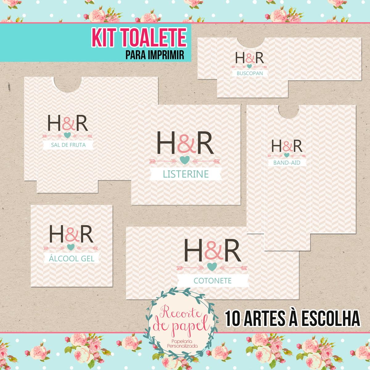 Kit Toalete Para Imprimir No Elo7 Recorte De Papel 645b6e