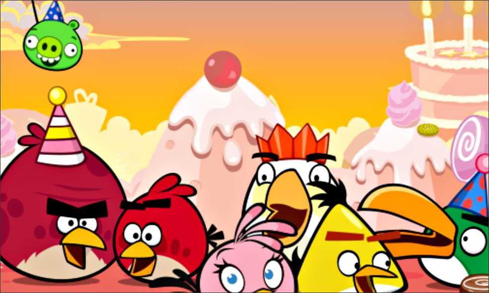 Painel Angry Birds G Frete Gratis No Elo7 Atelier Toque Final