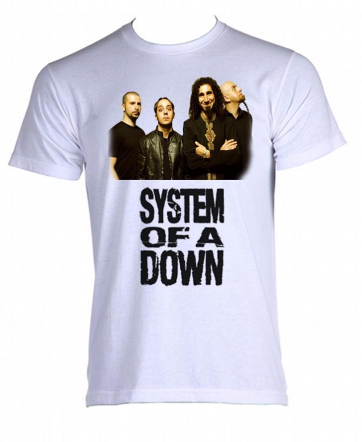 6fa0f80c1d Camiseta system of a down 05 no Elo7