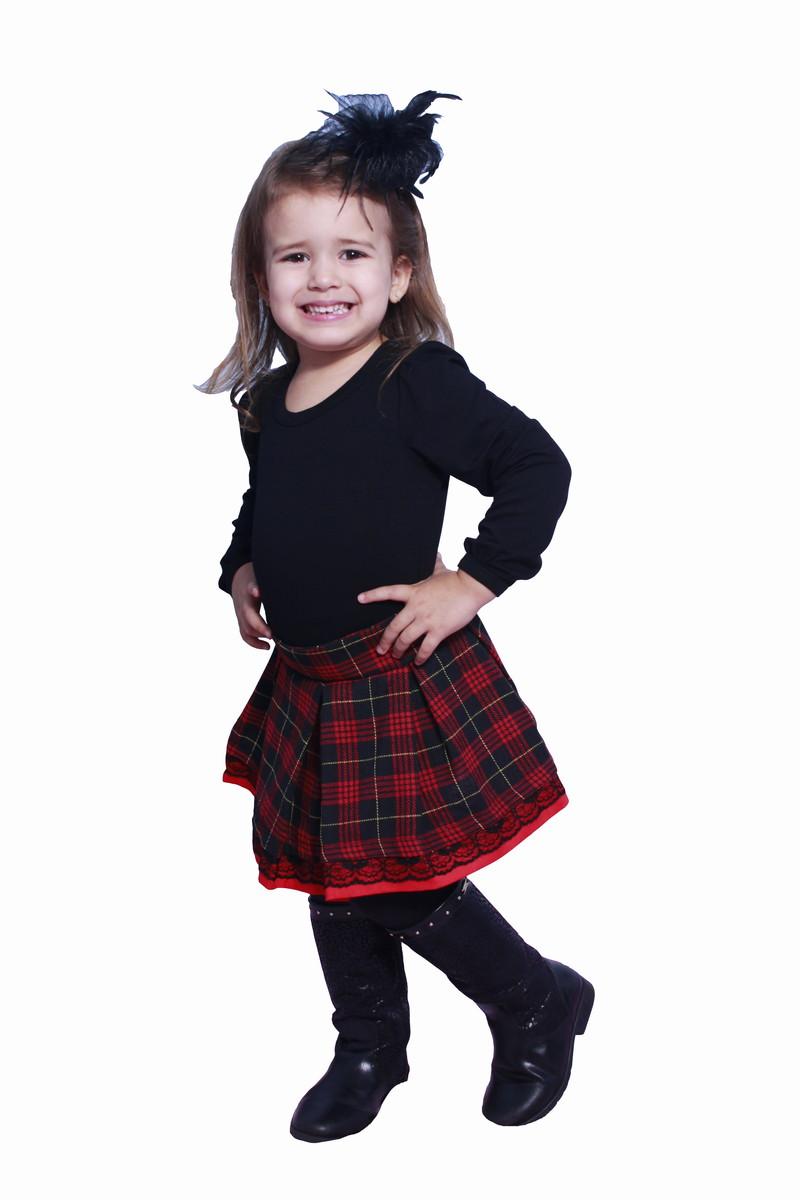 Saia Xadrez - Infantil no Elo7  d12cf11c7c8