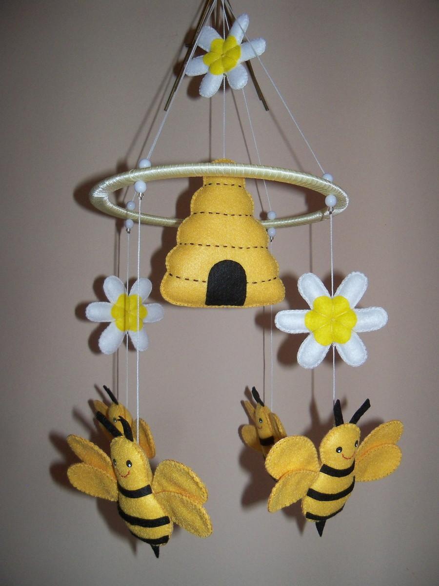 m bile abelhas no elo7 ateli anna diniz 164b23. Black Bedroom Furniture Sets. Home Design Ideas