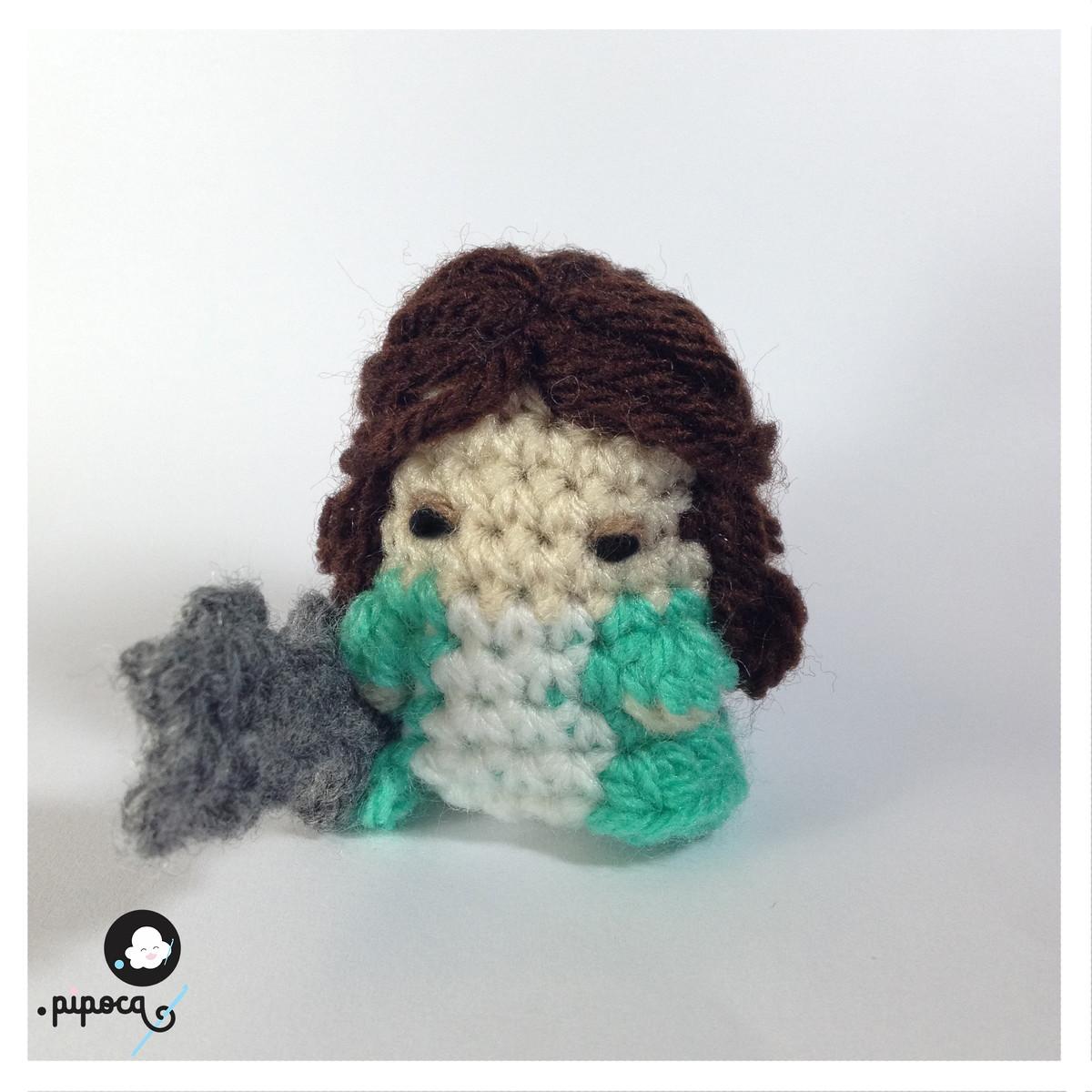 English: Crochet Doll Pattern-Kyoko 恭子 (Kimono Baby) (con ... | 1200x1200