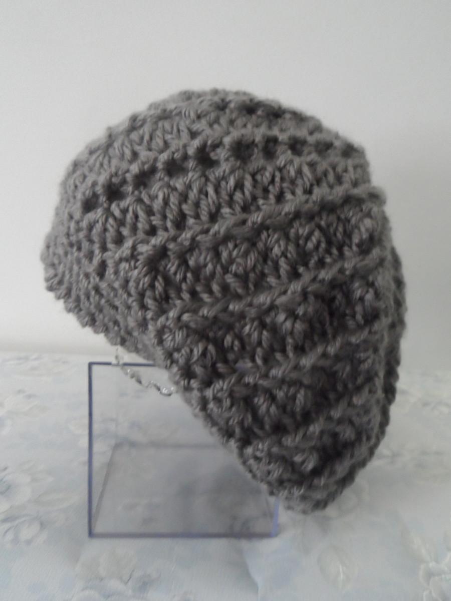 Boina de Lã em Crochê no Elo7  2336047ff59