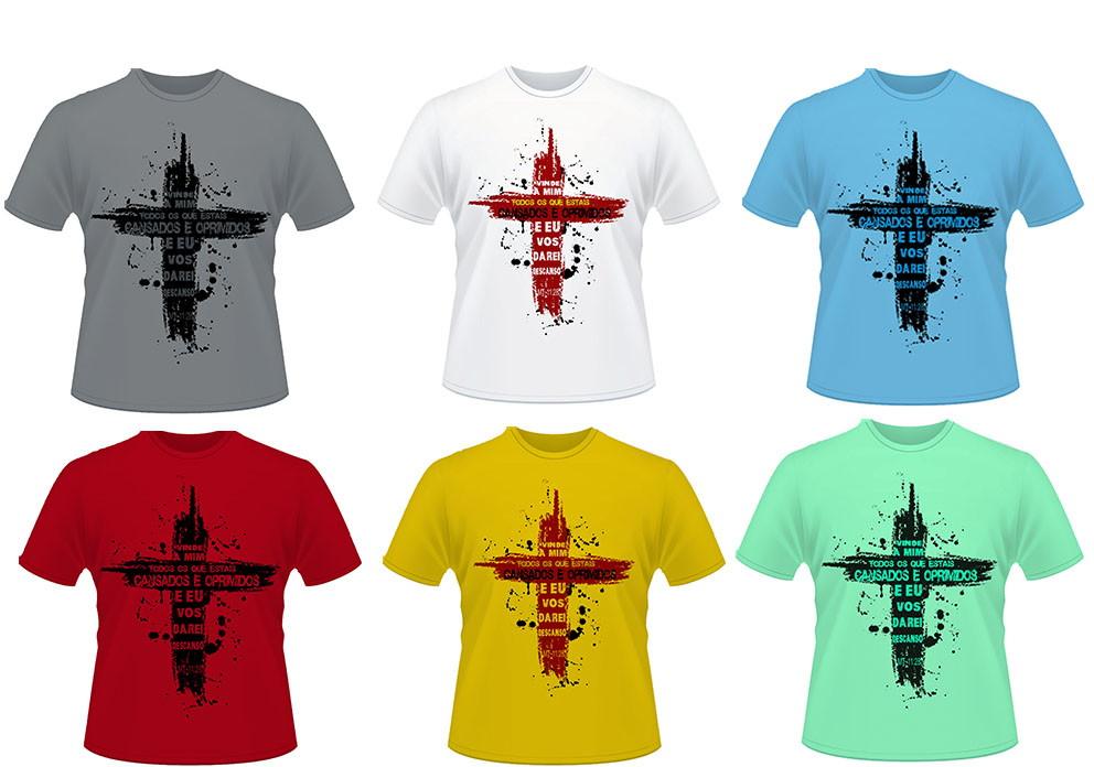 e8db96dba565a Camisas Cristãs   Religiosas no Elo7