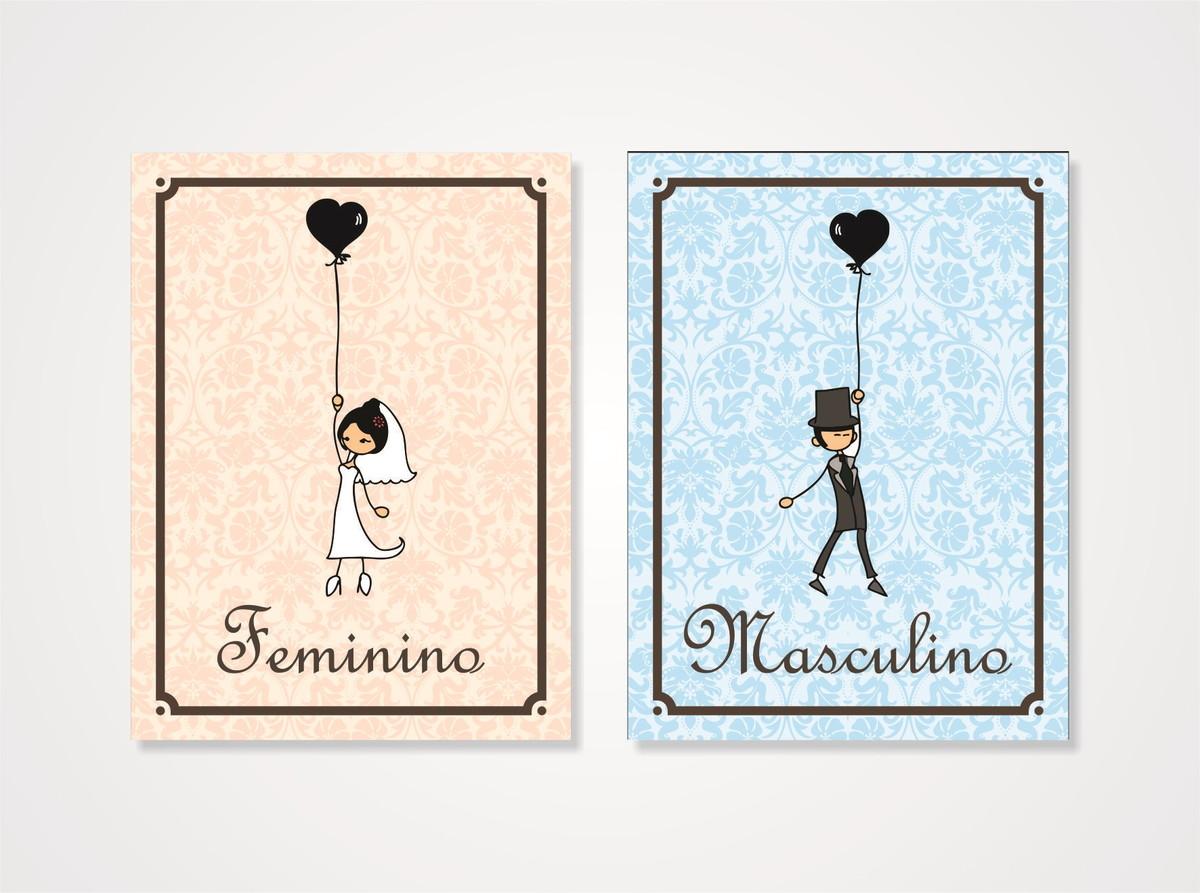 Placas WC Casamento  01 Par  Melancia  Boas Idéias Para O Seu Dia Especial -> Banheiro Feminino Placa Para Imprimir