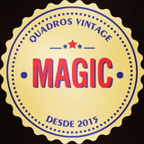Quadros Vintage Magic