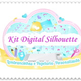 kit digital silhouette elo7