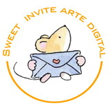 Sweet invite arte digital