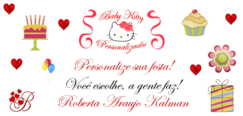 Baby Kitty Personalizados