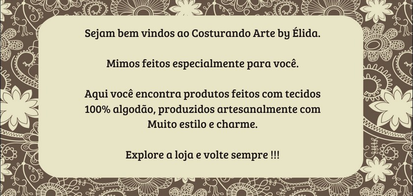 Costurando Arte By Elida