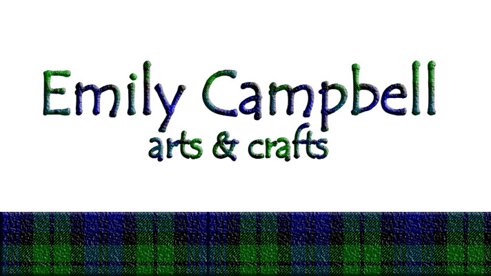 EMILY CAMPBELL ARTS & CRAFTS