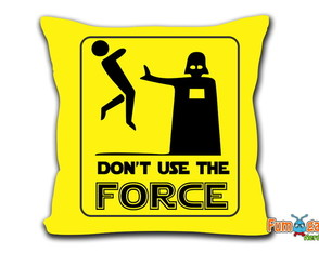 Almofada Darth Vader - Don't Use The Force