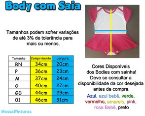 Body com Sainha